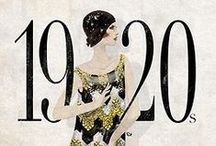 1920s Jewelry / Fabulous style + inspirational jewelry and accessories from the fashionable 1920s.