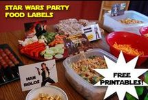 Star Wars Birthday Party / Tons of great ideas and free printables for planning a fantastic Star Wars Birthday party!