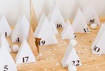 DIY : cadeaux & calendrier de l'Avent / Envie de changer des Calendriers tout faits, remplis de friandises ? Voici une sélection de projets originaux à réaliser soi-même ! En bonus : des idées cadeaux, des planches à imprimer pour remplir votre calendrier...