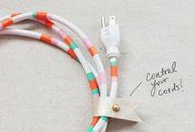 Masquer et ranger les câbles