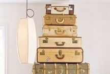 Luggage Love / Luggage, from gorgeous vintage cases to clever new twists on the suitcases and bags we pack when we go on holidays. Luxury, quirky, luggage love.