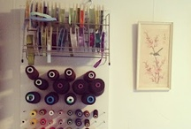 Craft room ideas / None / by Kim Vermeer