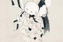 Illustration / by Melinda (Mode et Maison)