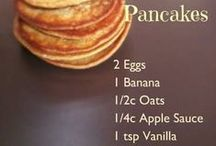 Recipes: Breakfast / Breakfast foods--sweet and savory!