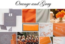 Wedding | Orange & Gray / by Taylor Made Soirées