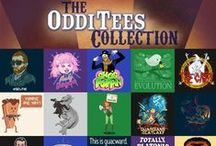 OddiTees Collection (Ended) / Come round and gather all ye TeeFurians, to see this curated collection of curious OddiTees! These fascinating wonders were found filled with with humor and spectacle sure to delight. October 16th - 23rd 2014. / by TeeFury