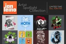 Ian Leino Spotlight Collection (Ended) / by TeeFury
