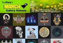 March Gallery Release / 20 New Designs Added to the Gallery / by TeeFury
