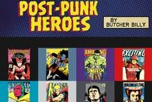 Post Punk Heroes Collection (Ended) / Available April 1st - 8th on www.teefury.com / by TeeFury