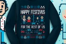 UGLY SWEATERS / by TeeFury