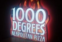 1000 Degrees Pizza / Signage we created for 1000 Degrees Pizza!