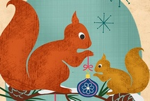 squirrels / Squirrel items found; in honor of Acorn, the CMRLS mascot. / by Dorothy Vance