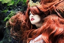 Hair / Beautiful tresses of all colour, but mostly red. ;) / by Matrixbabe Vintage