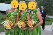 Hideous Bridesmaid Dresses / YIKES. / by Brianna Carson