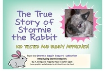 Stormie Rabbit Readers / Original readers written by me.  Stormie is my real life rabbit but enters the fictional world in these readers.  Stormie readers teach concepts and life lessons.  Many of the illustrations are from Mel @ From the Pond. Find them at my store at http://www.teacherspayteachers.com/Store/A-Shep