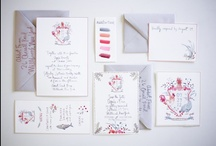invitations / beautiful invitations, calligraphy, and stationary