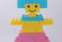 Grosse Legosteine / Riesenlego in Pastelltöne