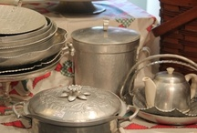 Vintage Aluminum ware / Heirloom, or 'new to you' finds ... all things vintage aluminum... / by Matrixbabe Vintage