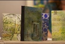 Book Art / Make your own bindings, covers and backgrounds to create fantastic mixed media books: / by Cloth Paper Scissors