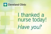 Nursing / It's National Nurses Week! We're proud to honor our 11,000 Cleveland Clinic nurses for making a difference in our patients' lives and helping us deliver on our mission of patients first. Visit clevelandclinic.org/nursing for more information. / by Cleveland Clinic