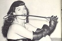 Betty Page / Burlesque, Pin-Up, and Bondage Queen ... Paved the way... / by Matrixbabe Vintage