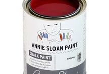 BURGUNDY| Chalk Paint® by Annie Sloan / Beautiful projects with Chalk Paint® decorative paint by Annie Sloan in Burgundy!