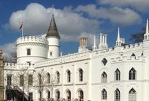 What Horace Would Buy / While attending the Decorative Fair in Battersea Park in April, Saxon Henry channeled the great gothic embellisher Horace Walpole, imagining what he would buy to furnish a modern-day Strawberry Hill.