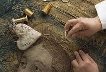 Tapestry / medieval tapestry
