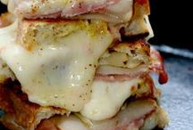 Grilled Cheese! Not Your Granny's Grilled Cheese! / Grilled cheese delights.