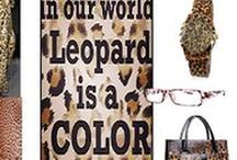 """LEO CLASSICO / """"Leopard or animal prints are like neutrals. They're seasonless, and I love to combine them with almost anything. In small doses it always add a little extra vagant edge to the outfit. Simply eye - catching, classic, individual and eternal style. """"La Mia Cara"""