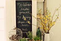Spring is around the corner! / by Christine Collins Jackson