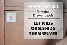 Organize ~ / Organization for all areas in the home. / by Phebe Jacobson