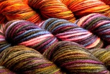 Dyeing fabric and yarn