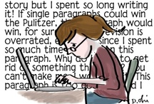 Joys & Pains of Writing / The ups and downs of the writing process....