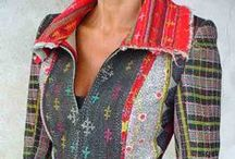 Recycled cloths inspiration