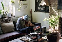 Boho Interiors - tips and styling ideas / From jungalow style to clean and chic boho interior styling tips and ideas