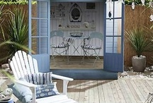Boho style gardens and outdoor space / Planting ideas, garden care tips,