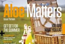 Aloe Matters Magazine / Our monthly Company online magazine from Forever. You will find it full of Health and lifestyle articles and tips. / by Jacs Henderson... Live, Love & Learn