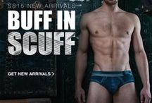 Scuff: C-IN2 Men's Underwear Collection / by C-IN2 Men's Fashion Underwear