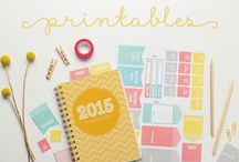 Organized : Printables / A collection of printable organizers from across the web!