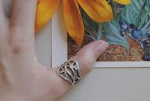 Rings / Silver Spoon Jewelry adjustable rings, made to fit sizes 6-9. A simple accessory goes a long way.