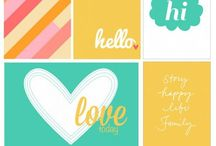 Crafty : Printables / Free printables for Project Life and other crafts