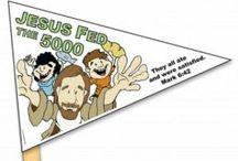 CC Jesus Feeds 5,000 / by Ilene Irvin