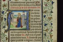Medieval Madness / My obsession with medieval illuminated manuscripts and etc.