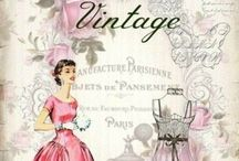 Fabulously Vintage Fashions / Fashions I love that are vintage-inspired