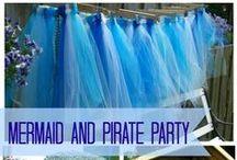 Pirates vs. Mermaids Birthday Party / Leilani's 9th birthday party, Mermaids vs. Pirates themed. / by Cathy Floreen