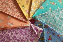 pretty fabric and linens