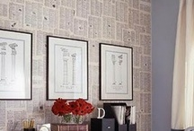 wall treatments / by Kelly Whalen