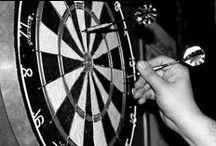 Jeux de fléchettes / Darts, fléchettes,