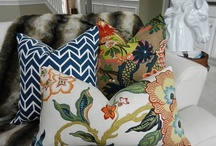 Pretty Pillows  / by Jeanne Geiken